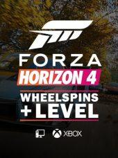 Forza Horizon 4 Wheelspins & Level Boost